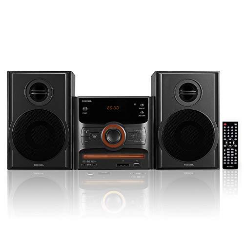 Roxel RCD-250BT All in One Compact Micro Hifi CD Player, Mini stereo, DVD...