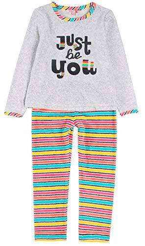 Boboli 928100 Mädchen-Schlafanzug Velours, Pink 8 Jahre