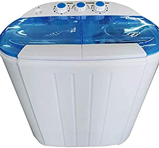 xlpace Lavadora portátil compacta con mini lavadora centrifugado secador para apartamentos en el hogar