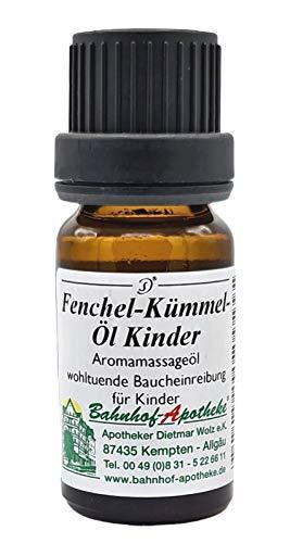 Fenchel-Kümmel-Öl nach Stadelmann® - Bahnhof Apotheke Kempten - Für Kinder – Das Original (10ml) – PZN 00192318