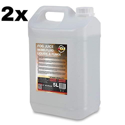 liquido de humo 2 X 5 Litros Adj Niebla Fog juice medium ADJ Liquido de niebla,Humo Para discoteca
