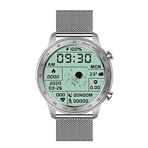 "Reloj Inteligente MX5 Hombres Mujeres, 1.3"" Pantalla Táctil Completa Bluetooth Smart Call Ver Con Ios Ritmo Cardíaco Rastreador de Ejercicios IP68 a Prueba de Agua Deporte SmartWatch Para Android"