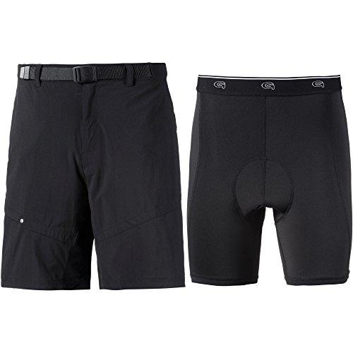Gonso Herren Arico Shorts, schwarz, M