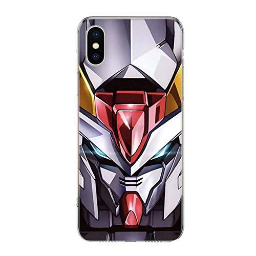 Mobile Suit Gundam Anime Phone Case Cover For iPhone 12 Mini Pro 11 7 8 6 6S Plus + X XS MAX XR 5 5S SE Fashion Art TPU Coque SH,TV062-3,iPhone 7Plus