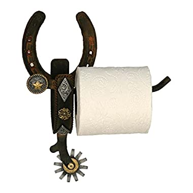 River's Edge Real Cast Iron Spur Toilet Paper Holder