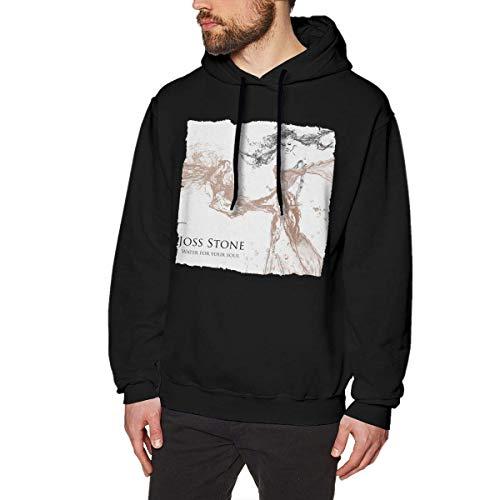 fenglinghua Sweats à Capuche pour Hommes Mens Joss Stone Water for Your Soul Hoodies Sweatshirt Black