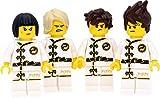 LEGO Ninjago - Juego de minifiguras #10 con 4 figuras y accesorios (NYA, Kai, Jay, Lloyd)