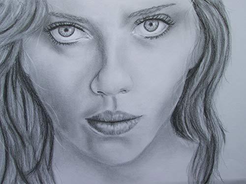 Frauenportrait große Augen