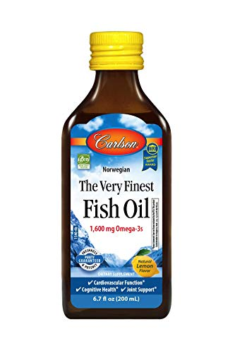 The Very Finest Fish Oil Liquid Lemon 200 mL
