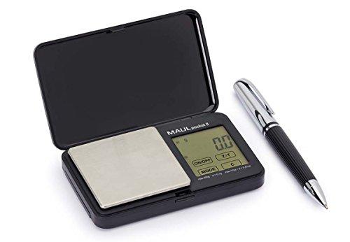 Maul 16115 90 Briefwaagen Taschenbriefwaage Pocket schwarz