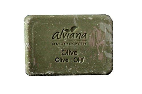 Alviana - Savon Bio Huile Végétale Olive 100 G