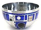 "Disney Parks Star Wars Galaxy's Edge R2-D2 Droid Head 10"" Metal Serving Bowl"