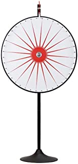 """36"""" Custom Dry Erase White Prize Wheel with Extension Base and Extension Pole by Midway Monsters"""