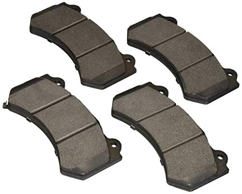 Bosch BP1405 QuietCast Premium Semi-Metallic Disc Brake Pad Set for Select Cadillac ATS-V, CTS-V; Chevrolet Camaro, Corvette; Dodge Challenger, Charger, Durango; Jeep Grand Cherokee - FRONT