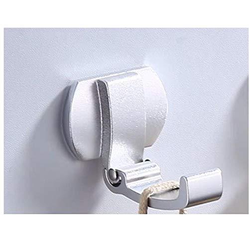 4 unids espacio de aluminio oro blanco negro plata oculta moda creativo pared colgante colgante gancho baño sala de estar toalla gancho-C4 simple y elegante combina con el estilo moderno