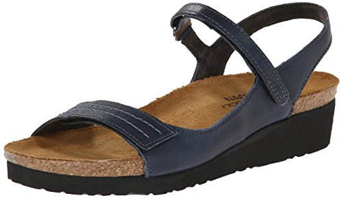 Naot Footwear Women's Madison Sandal Soft Ink Lthr 9 M US