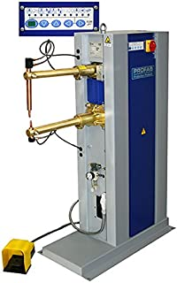 PROFAB Electric Spot Welding Machine - Sheet Metal Fabrication/HVAC Duct Production - Air Operated Rocker Arm with Foot Pedal Control & ProCool II
