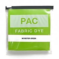 PAC FABRIC DYE 繊維用染料 col.15 モンスターグリーン 色止め剤付き