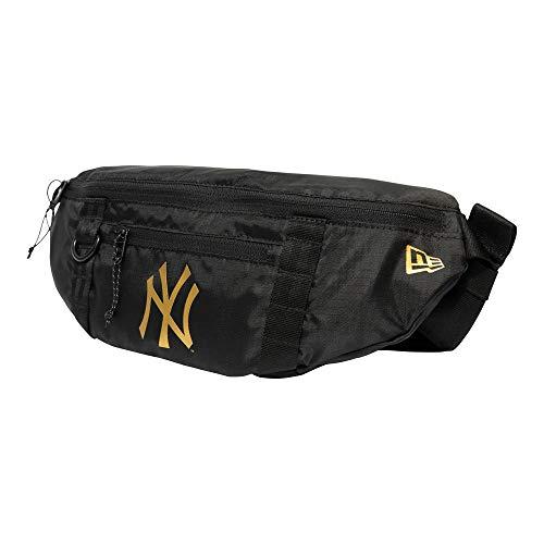 New Era Riñonera modelo MLB WAIST BAG LIGHT NEYYANWHI marca, black, talla única