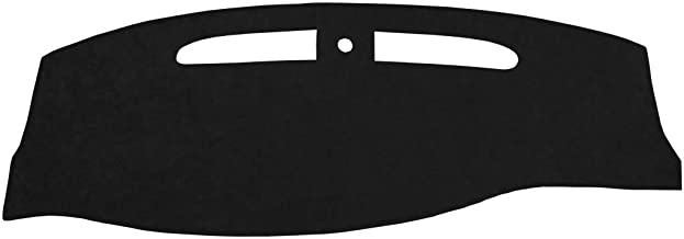 Seat Covers Unlimited Triumph Spitfire Dash Cover Mat Pad - Fits 1970-1980 (Custom Suede, Black)