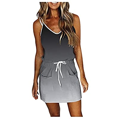 Longshirt Damen Kurzarm Sommerkleid