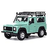 Maquetas de Coches 1:24 Defender SUV Car Static Die Cast Vehículos Coleccionables Modelo De Coche Juguetes