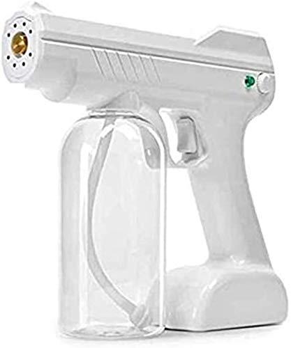 YGCBL Disinfección portátil Luz Azul Nano Steam Pistola Ulv Fogger, pulverizador de desinfección de Mano, máquina de atomizador de Pistola de Vapor Nano (Color : Default)