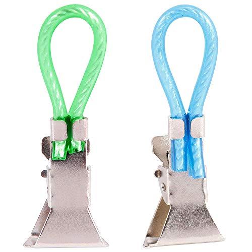 ADSIKOOJF 5 stks/partij Theedoek Hangende Clips Thuis Reizen Draagbare Opslag Hangers Rack Clip op Haken Loops Handdoek Hangers Wandhaak
