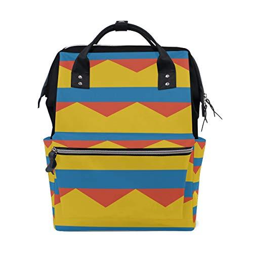 Bolsa de viaje para mamá, diseño de bandera de Colombia