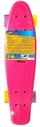 New Sports Kickboard, gelb und lila, ABEC 7