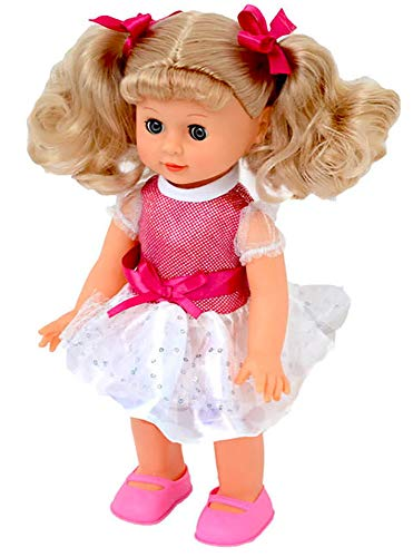 Bambola 30 cm che Parla Canta Cammina Kids Joy Belinda