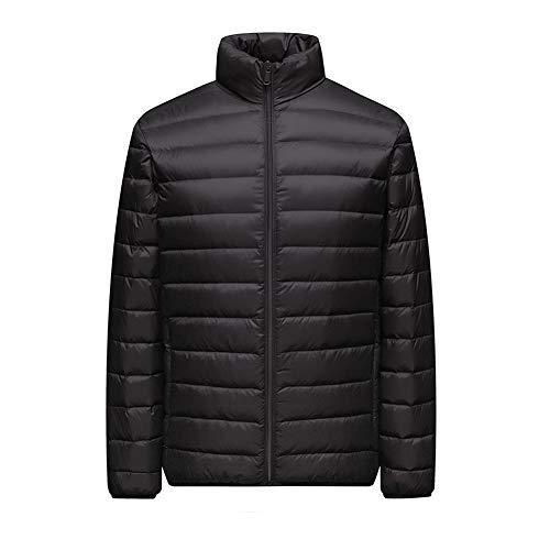 Down jacket Chaqueta de Plumas para Hombre Plegable Ultraligero Puffer Coat 90%...