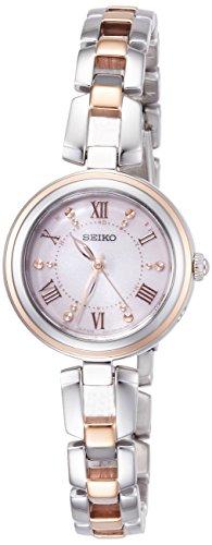 [セイコーウォッチ] 腕時計 セイコー セレクション ソーラー電波 ブレスレットタイプ ピンクグラデーション文字盤 SWFH090 レディース シルバー
