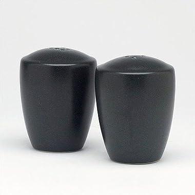 Noritake Colorware Salt and Pepper Shakers, Graphite