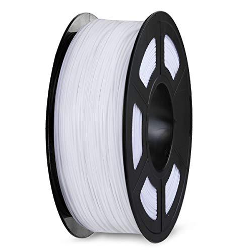 SPLA 3D Printer Filament 1.75mm, SUNLU SPLA Filament, Dimensional Accuracy +/- 0.02 mm, 1 kg Spool, SPLA 1.75 White