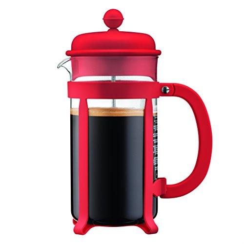 Bodum - 1908-294 - Java - Cafetera 8 tazas - 1.0 l - color rojo