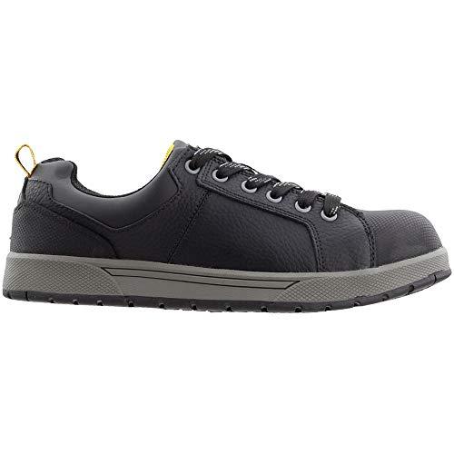 Chinook Mens Kickflip Slip Resistant Steel Toe Work Work Safety Shoes Casual - Black - Size 11.5 D