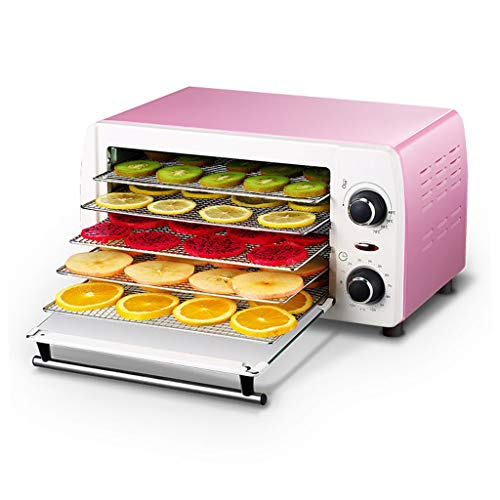 Best Buy! Qin Food Dehydrator, With Temperature Control And Timer, Fruit Dehydrator, Ideal For Fruit, Healthy Snacks, Vegetables, Meats & Chili