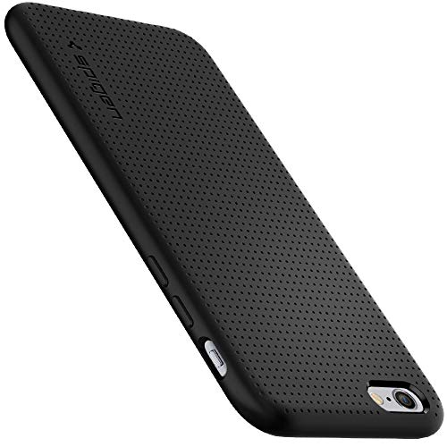 Spigen Funda Liquid Air Compatible con iPhone 6 y iPhone 6S - Negro