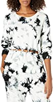 KENDALL + KYLIE Women's Front Lace Up Sweatshirt - Amazon Exclusive