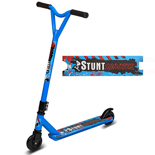 Why Choose Fazil Stunt Scooter Pro Spin Street Scooter, Trick Jump Push Kick Scooter for Age 8+, ABE...