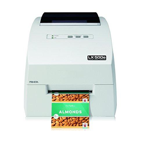 Primera LX500e - Impresora de Etiquetas (Inyección de Tinta, 4800 x 1200 dpi, 50,8 mm/s, 10,2 cm, 61 cm, Cian, Magenta, Amarillo)
