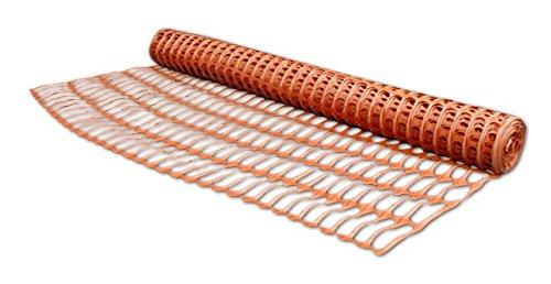 Bradas AS-BR10090261030 Bauzaun 1 x 30 m, orange
