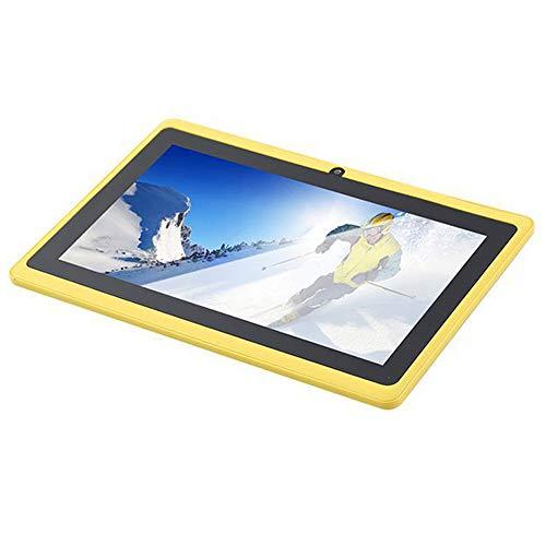 tablet PC de 7 Pulgadas Android PC para niños Compatible con Bluetooth WiFi Cámaras HD Delanteras y traseras Smart Fast de Alto Rendimiento PC
