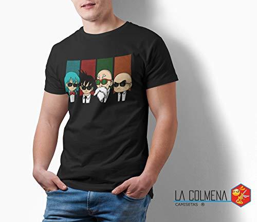 Camisetas La Colmena - 2239-Reservoir Kame -Dragon Ball - Reservoir Dogs (Melonseta) M