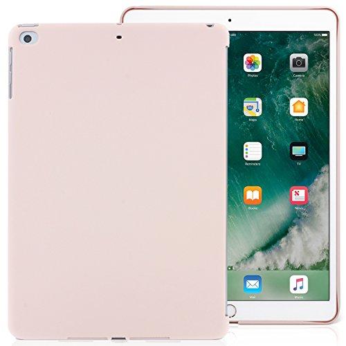 Khomo - Funda para iPad de 9,7 Pulgadas, 2017 y 2018 Pulgadas, Color Rosa y Arena