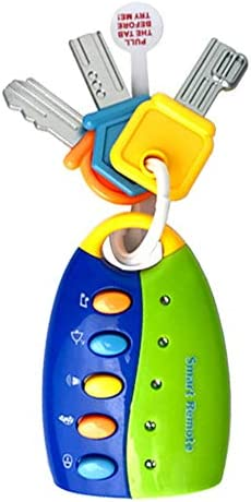 Fun Long Beach Mall Keys Toy Funky for and Kids Babies Translated Car Toddlers