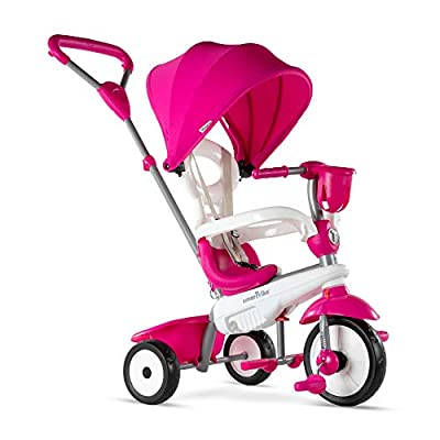 smarTrike Breeze Plus Toddler Tricycle Push Bike – Adjustable Trike for Baby, Toddler, Infant Ages 15 Months to 3 Years from smarTrike