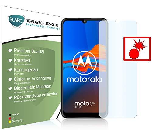 Preisvergleich Produktbild Slabo 2 x Panzerschutzfolie für Motorola Moto e6 Plus / Moto e6s Panzerfolie Displayschutzfolie Schutzfolie Folie Shockproof KLAR