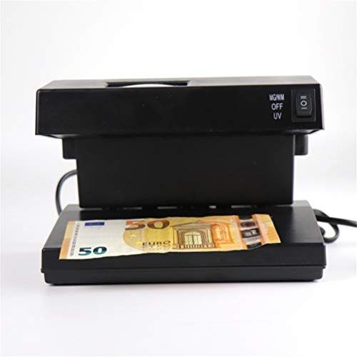 Countertop Ultraviolet Counterfeit Detector with Violet Magnetic Head and Watermark Counterfeit Light – UV…